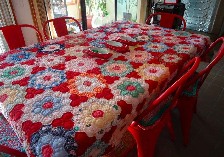 Quilttablecloth